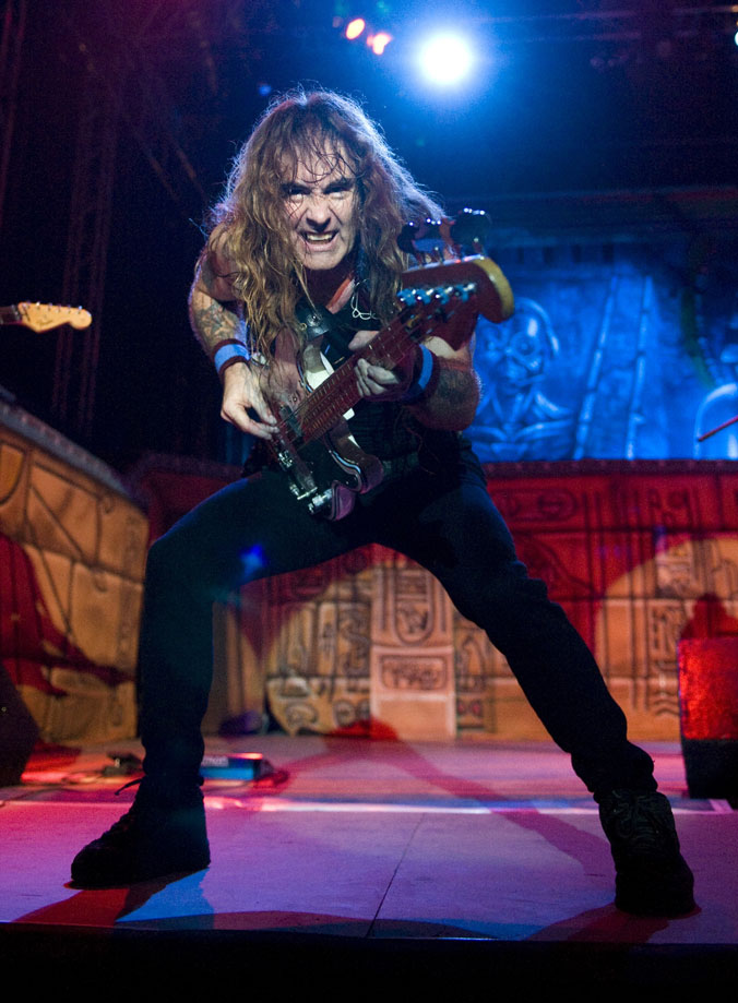 Iron Maiden live by John McMurtrie