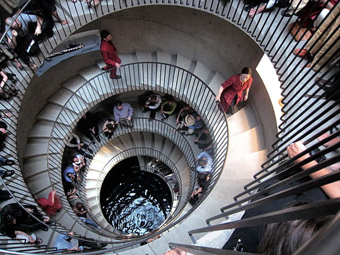 Meredith Monk Spiral Staircase